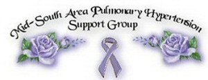 Mid-South area pulmonary hypertension support group logo